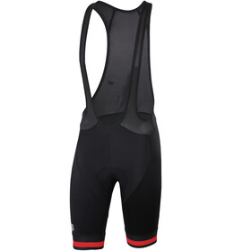 Sportful Bodyfit Team Classic Bibshorts Men Black/Red
